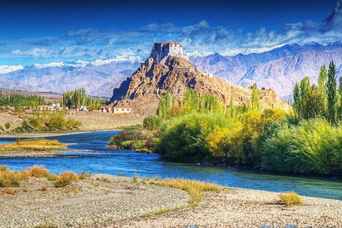 Stakna-monastery-in-Leh-Ladakh